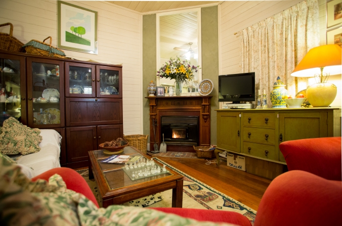 Hillgrove B&B loung room